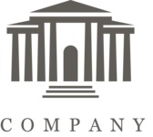 Business logo museum black