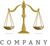 Business logo justice color
