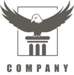 Company logo eagle black