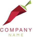 Business logo chilli color