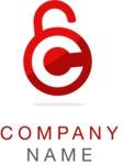 Business logo lock color