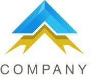 Bold business logo color
