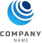 Company logo planet color