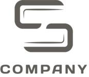 Logo business letter black