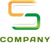 Logo business letter color