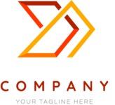 Elegant business logo color