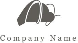 Business cloud logo black