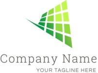 Business logo net color