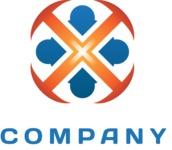 Business logo rosette color