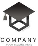 Business logo education color