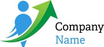 Business logo development color