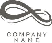 Company logo infinity black