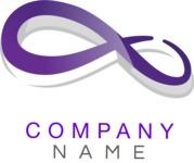 Company logo infinity color
