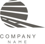 Business logo transportation black