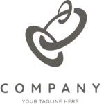 Business logo rings black