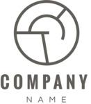 Business logo circle black