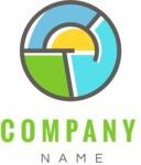 Business logo circle color