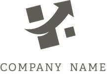 Business logo success black