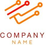 Company logo tech color