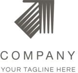 Arrow company logo black