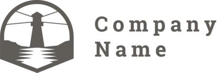 Logo lighthouse black