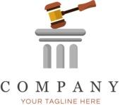 Business logo law color
