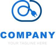 Electrical company logo color