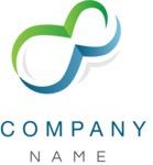 Business logo organic shape color