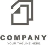 Company logo docs black