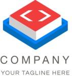 3D business logo color