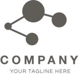 Innovation business logo black