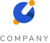 Spinning top company logo color