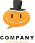 Business logo smiley color