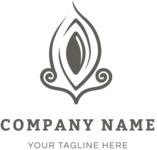Business logo ornament black