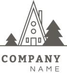Business logo mountain black