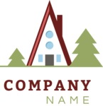 Business logo mountain color