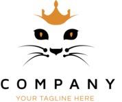 Business logo cat color