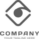 Fresh logo company black