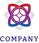 Flower business logo color