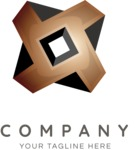 Solid business logo color