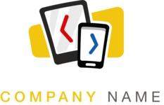 Business logo IT color