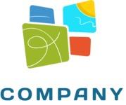Creative company logo color
