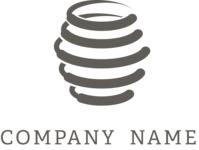 Honey business logo black