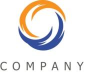 Company swirl logo color