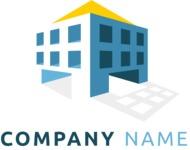 Business logo building color