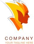 Business logo fireman color