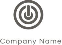 Company logo target black