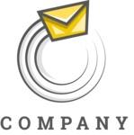Company logo post color
