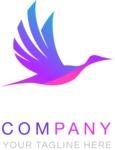 Company logo bird color