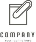 Business logo file black
